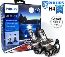 NEW Philips H4 (9003) LED X-treme Ultinon Gen2 Car Headlight Bulbs 6000K +250%