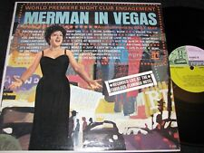 ETHEL MERMAN Merman In Vegas / US Mono LP 1961 REPRISE R-6062