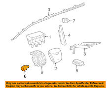 GM OEM Airbag Air Bag SRS-Side Impact Sensor 13502577
