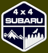 """4 x 4 SUBARU EMBROIDERED PATCH ~3-1/2"""" x 3"""" OFF ROAD RACING ASCENT OUTBACK SUV."""