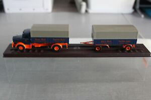 """Brekina Krupp Tiger HZ Pr/Pl blau orange """" Rhein. Westf. Frachten-Kontor """" OVP"""