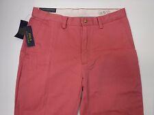 Polo Ralph Lauren Classic Fit Size 33 X 32 Adirondac Berry Pants New Mens Slacks