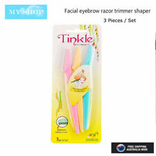 One Set of 3 Pieces of Tinkle Facial Eyebrow Razor Trimmer Blade Hair Remover