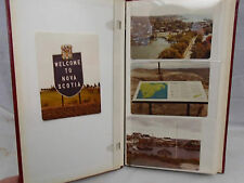 Photo Album Full 1960's Nova Scotia New Brunswick Cape Breton Maritime Road Trip