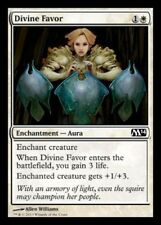 4x MTG: Divine Favor - White Common - Magic 2014 - M14 - Magic Card