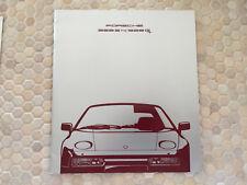 PORSCHE 928 S4 928 GT PRESTIGE SHOWROOM SALES BROCHURE 1990 USA EDITION.