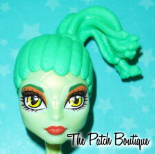 MONSTER HIGH CAM CREATE A MONSTER GORGON GIRL DOLL REPLACEMENT GREEN SNAKE WIG