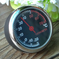 Stehlen Auto Temperatur Thermometer Meter Instrumententafel Tabelle Ornament