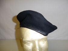 b2597-THUY RVN Vietnam and US  Black Beret Size 58 with label THUY-Chung W8B
