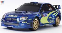 Tamiya 1:10 Kit Carrosserie Subaru Impreza Wrx 2004 avec Pneus + Jantes