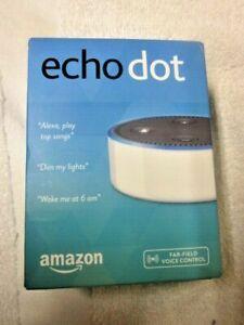 NEW Amazon Echo Dot - 2nd Gen - White - Smart Speaker   Free Shipping