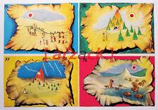 Album LONTANO WEST 2 DARDO 1963 - 4 figurine 75 76 77 78