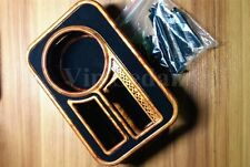 1PCS WOOD GRAIN CUP HOLDER FOR CAR AIR OUTLET TABLE ABS PLASTIC VIP DRINK HOLDER