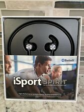 iSport Spirit Wireless Bluetooth 5.0 Headphones IPX5 Waterproof In Ear Headset