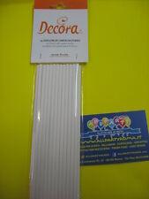25 LOLLIPOP sticks cm.15,2 decora stecche decoro dolci  party festa