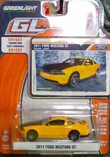 Green Light GLMuscle *Series 10* 2011 Ford Mustang GT Yellow