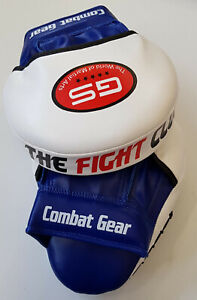GS Rex Leather Focus Pads,Hook and Jab Mitts,MMA Kick Boxing Muay Thai Sparring