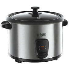 Russell Hobbs 10 Cup Stainless Steel Rice Cooker/Steamer 19750 OVERSEAS USE 220V