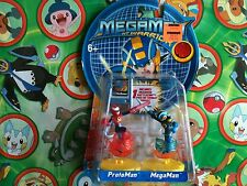 Megaman Figure Set Protoman vs Megaman & Chip Mini Boomer New Pack US Seller