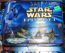 Star Wars TPM Micro machines collection III set MOC galoob               911