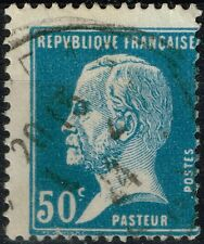 FRANCE PASTEUR N° 176 OBLITERE RARE PIQUAGE A CHEVAL COTE MAURY 40 €