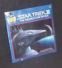 1980's Original Star Trek SEARCH FOR SPOCK Record Book