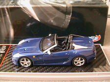 FERRARI SA APERTA 2010 BLUE ELECTRIC BBR BBRC49B 1/43 LIMITED EDITION 160 PIECES