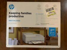 HP ENVY Pro 6452 Wireless All-in-One Color Inkjet Printer