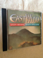 ANDY IRVINE & DAVY SPILANE CD EAST WIND TRA CD 3027 1992 WORLD MUSIC