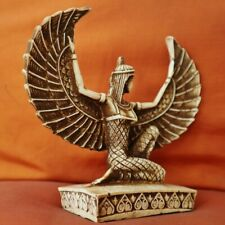 Amazing Handmade Egyptian Museum Art Statue Ancient Winged Kneeling Queen ISIS