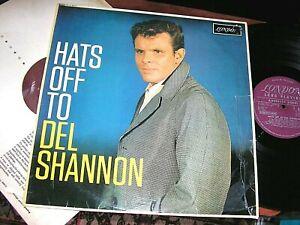 DEL SHANNON   -     Hats Off To Del Shannon,    ORIGINAL 1962 UK MONO LP / inner