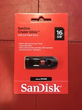 SanDisk Cruzer Glide USB 2.0 Flash Drive 16gb