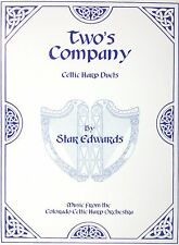 Two's Company - Celtic Harp Duets Music Book