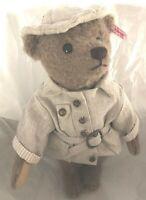STEIFF Livingstone Teddy Bear 2013 Mohair L/Ed in Safari Outfit EAN 034985 NRFB