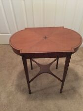 Kittinger Side Table - Gorgeous Inlay! Excellent Condition!