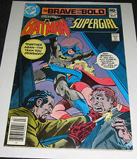 Brave and the Bold #160 Dc 1980 Comic with Supergirl