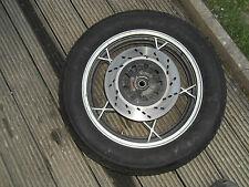 Hinterrad Felge Komplettrad Bremsscheibe 450 V 17 Suzuki GSX 1100E GU 71B