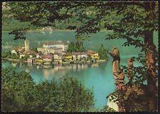 AD4660 Isola San Giulio (NO) - Panorama - Cartolina postale - Postcard