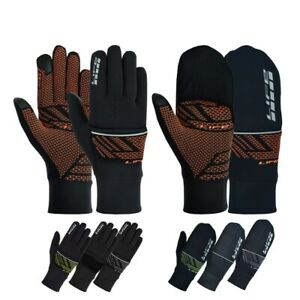 LIFE Cycling gloves waterproof Bike gloves convertible bicycle mitten windproof