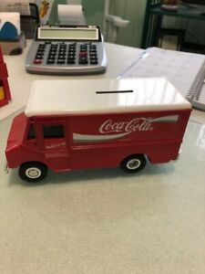 COCA-COLA DELIVERY VAN BANK - EXCELLENT CONDITION