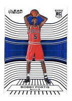 2015-16 Bobby Portis Panini Clear Vision Blue Rookie /149 - Chicago Bulls