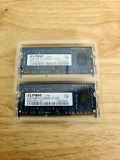 Elpida 4GB Kit [2x2GB] 1Rx8 PC3-12800S DDR3 Mac Laptop Memory RAM