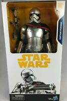 "DISNEY STAR WARS THE LAST JEDI CAPTAIN PHASMA 12"" ACTION FIGURE WITH BLASTER NEW"