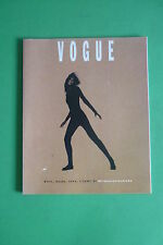 VOGUE ITALIA MILANO VENDE MODA SUPPLEMENTO AL N.475 GENNAIO 1990 MODA FASHION