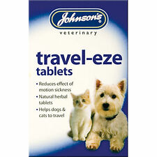 Johnsons Travel-eze Travel Motion Sickness Relief For Cats & Dogs Natural Herbs