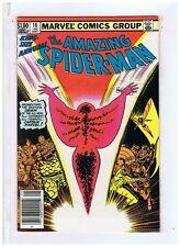 Marvel Comics The Amazing Spiderman Annual #16 NM- 1982 Or & 1st Ap New Capt Mar