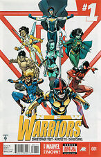 US COMIC PACK NEW WARRIORS 1-6 yost to curiel MARVEL