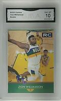 2019 ACEO Custom Zion Williamson NOLA RC GMA 10