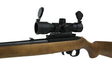 Ruger 10/22 Black 1x35 Compact Green/Red Dot Rifle Scope w/ Free Mount & Rings