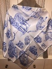 Hermes PM Shawl Scarf Silk L'Atelier De Robert Dallet Foulard Tuch Carre 90cm